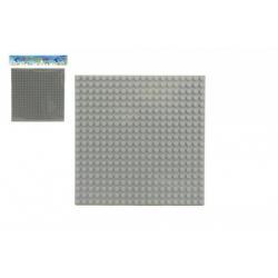 Podložka pro stavebnice plast 16x16cm v sáčku