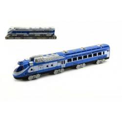 Vlak na setrvačník plast 42cm v blistru