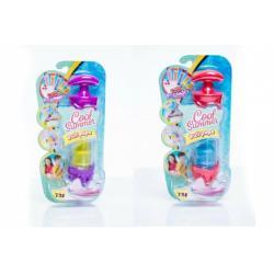 Tvořítko/tuba na zmrzlinu Pull Pops plast 20cm asst 4 barvy na kartě