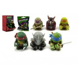 Želva Ninja klíčenka figurka plast asst v sáčku 24ks v boxu