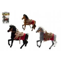 Kůň fliška 13cm asst 3 barvy v sáčku