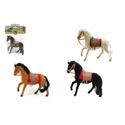 Kůň fliška 18cm asst 3 barvy v sáčku