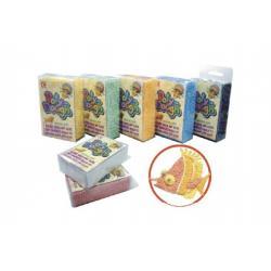 Kuličáci modelína/plastelína kuličková hmota 10g asst 8 barev v krabičce 7x13x3,5 cm