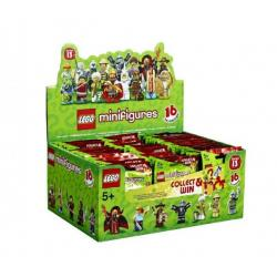 LEGO® 71008 Minifigurky - 13. série plast v sáčku 9x11cm 60ks v boxu