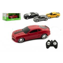 Auto RC sport na dálkové ovládání plast 15cm na baterie 4 barvy v krabici 24x10x12,5 cm