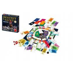 Dostihy a sázky rychlá dráha společenská hra v krabici 30x30x7cm