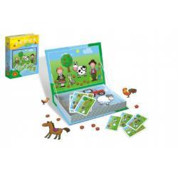 Magnetické příběhy Farma 24 dílků v krabici 19x26x4cm
