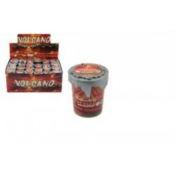 Sliz - hmota 30g vulkán 4,5cm v plastové krabičce 48ks v boxu