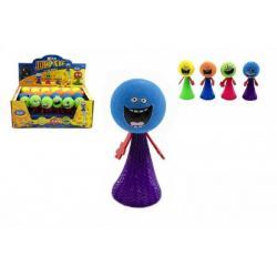 Hip Hop míček vyskakující pěna 9cm asst 4 barvy 24ks v boxu