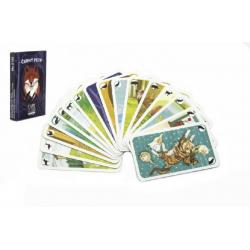 Černý Petr zvířátka společenská hra karty v papírové krabičce 6,5x10,5x1cm