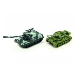 Tank plast 11cm asst 2 barvy na setrvačník 10ks v boxu