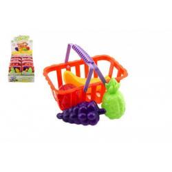 Košík ovoce/zelenina plast 14cm 8ks v boxu