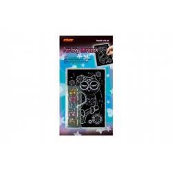 Perlový obrázek asst 11x22cm 24ks v boxu