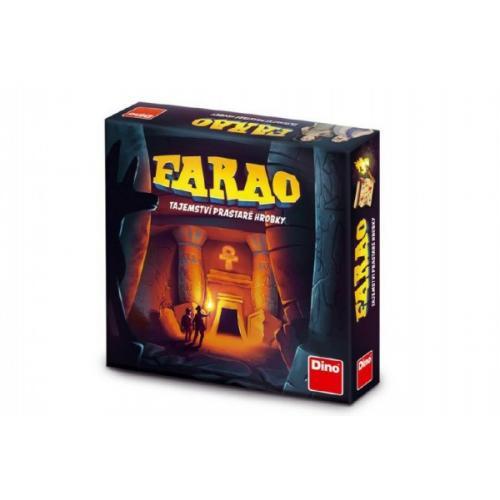 FARAO tajemství prastaré hrobky společenská hra v krabici 30x30x7cm