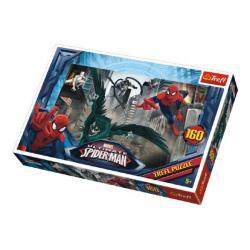 Puzzle Spiderman 41x27,5cm 160 dílků v krabici 29x19x4cm