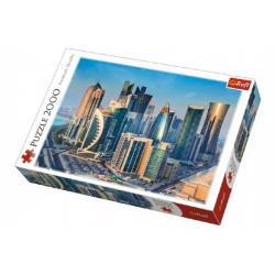 Puzzle Doha Katar 2000 dílků 96x68cm v krabici 40x27x6cm