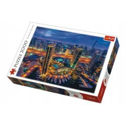 Puzzle Světla v Dubaji 2000 dílků 96x68cm v krabici 40x27x6cm