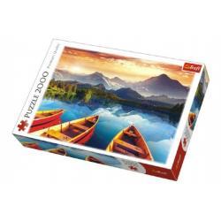 Puzzle Jezero 2000 dílků 96x68cm v krabici 40x27x6cm