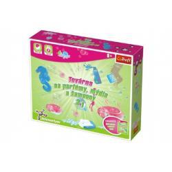 Továrna na parfémy, mýdla a šampony vědecká hra 27 pokusů Science 4 you v krabici 43x35x8,5cm