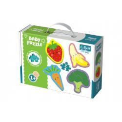 Puzzle baby  Zelenina a ovoce 2ks v krabici 27x19x6cm 12m+
