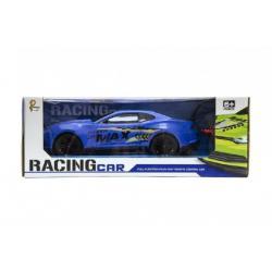 Auto RC 25cm plast zrychlující 1:16 asst 3 barvy na baterie + dobíjecí pack v krabici 35x13x15cm