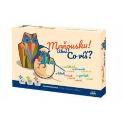 Mrňousku! Ukaž! Co víš? společenská magnetická hra v krabici 42x29x6cm 4+