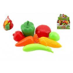 Ovoce a zelenina plast 7ks v síťce 12ks v boxu