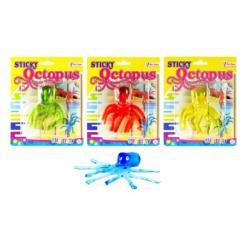 Sliz chobotnice asst 4 druhy na kartě