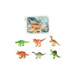 Dinosaurus plast 8cm asst mix druhů v sáčku 36ks v boxu