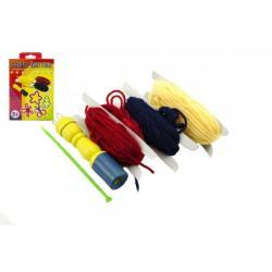 Sada paličkování pletení v krabici 13x21x3cm