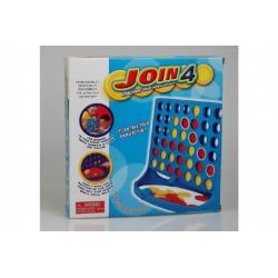 Piškvorky společenská hra plast v krabici 27x27x5cm