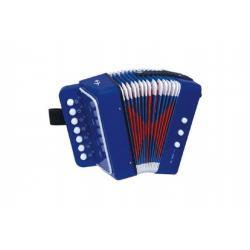 Harmonika tahací plast v krabici 19x18x10cm