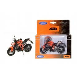Motorka Welly KTM Super Duke R kov 12cm v krabičce