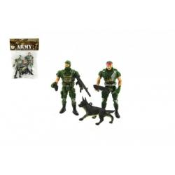 44499b1f2cab Sada vojáci s doplňky plast CZ design na kartě 11