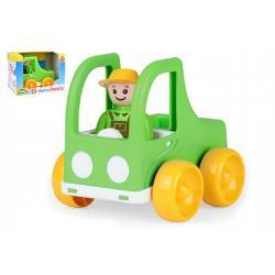 My First Racers auto pick up + figurka plast 10cm v krabici 15x11x11cm 12m+