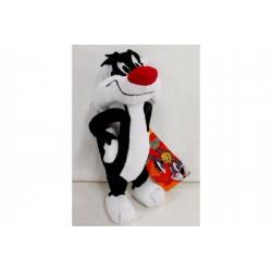 Kocour Sylvester Looney Tunes plyš 26cm v sáčku