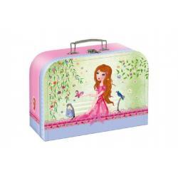 Kufřík/Kufr dětský školní papírový Girls Fairy Tales vel.20 cm