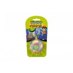 Míček skákající guma 5cm asst 3 barev na kartě