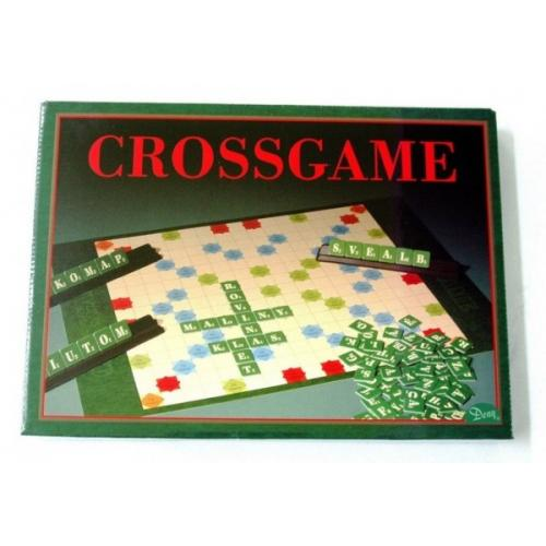 Crossgame verze SK 2 společenské hry v krabici 34x25x4cm