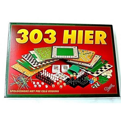 303 hier verze SK společenská hra v krabici 42x29,5x6cm