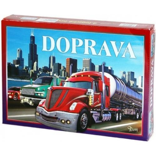 Doprava společenská hra v krabici 29x20x4cm