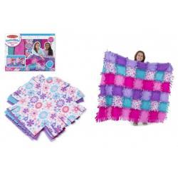 Výroba fleecové deky v krabici 40x31x10cm