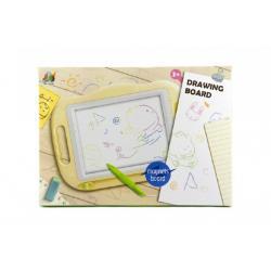 Magnetická tabulka kreslící plast v krabici 47x34x3cm