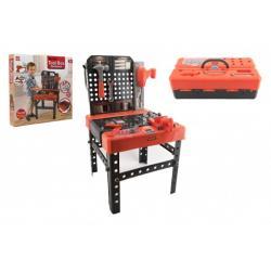 Stůl/Ponk s nářadím plast 45ks 38,5x67x39cm v krabici 40x40x7cm