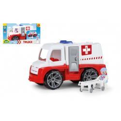 Auto Truxx sanitka plast 29cm s figurkou v krabici 39x22x16cm 24m+