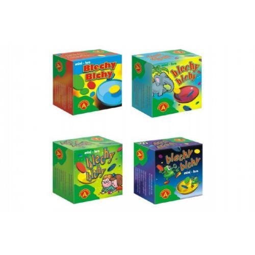 Blechy mini společenská hra v krabičce 6x6x3cm