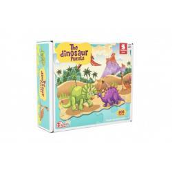 Puzzle dinosaurus 64x90cm 208ks v krabici 28x24x9cm