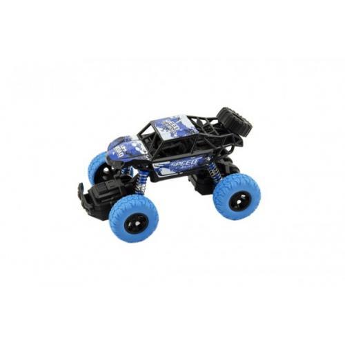 Auto buggy plast 14cm na zpětný chod 2 barvy 8ks v boxu