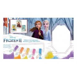 Pískování obrázku Ledové království II/Frozen II 3v1 v krabici 33x19x2,5cm
