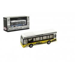 Autobus kov/plast 9cm mix barev v krabičce 13x7x4cm 24ks v boxu